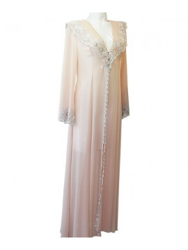 Jane Woolrich Antique Lace Negligee