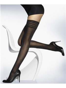 Wolford Velvet Deluxe 50 Opaque Stay-Ups