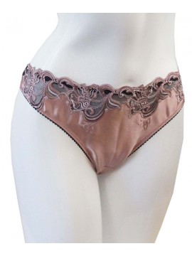 Ambra Silk Flowers Thong
