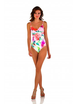Roidal Fidgi Coral F Cup Swimsuit