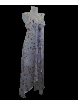 Jane Woolrich Butterfly Silk Nightdress 82722