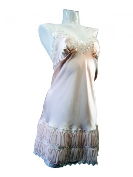 Jane Woolrich Pleated Nightdress