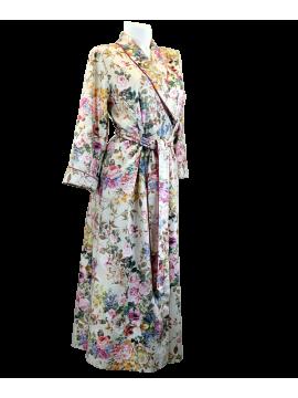 Louis Feraud Floral Print Robe 34203048