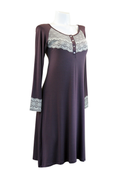 Vanilla Antique Lace Nightdress 2421