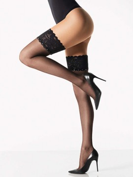 Wolford Silk Crystal Stay Up