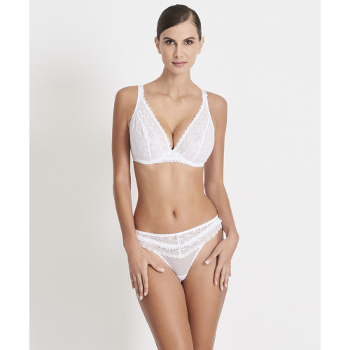 speical offer affordable price quite nice Aubade L'Odalisque Triangle Comfort Plunge Bra