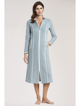 Louis Feraud Texture Zipped Robe