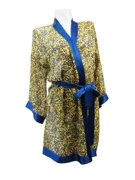 Marjolaine Altesse 100% Silk Robe