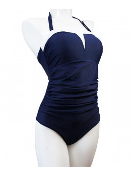 Clover Lewis Jump Mastectomy Bandeau Swimsuit