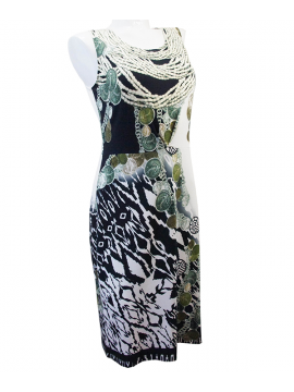 Louis Feraud African Chain Dress