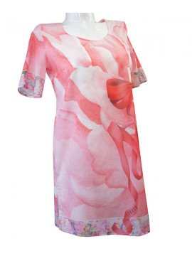 Louis Feraud Flower Bowl Tunic