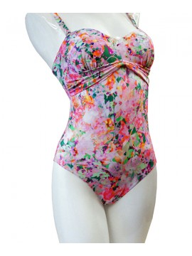Louis Feraud Flower Bowl Swimsuit