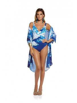 Roidal Blue Flower Swimsuit
