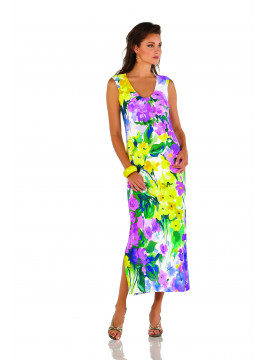 Roidal Flor Lila Eva Dress
